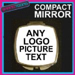 CHRISTMAS GIFT PERSONALISED COMPACT LADIES METAL HANDBAG MIRROR